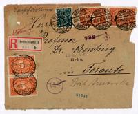 Fourteen envelopes addressed to F. G. Banting