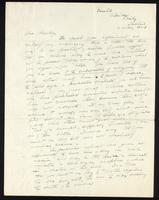 Letter to F. G. Banting 23/08/1921
