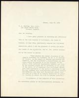 Letter to F. G. Banting Esq. M.D. 23/07/1923