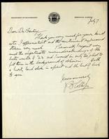 Letter to Dr. Banting 07/07/1925