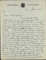 Letter to Doctor Macleod 15/06/1922
