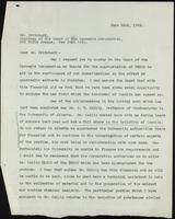 Letter to Dr. Pritchard, 22/06/1922