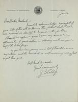 Letter to Doctor Macleod 10/01/1924