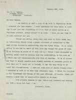 Letter to Dr. B. P. Watson 03/01/1924