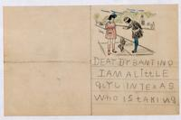 Child's letter to Dr. Banting