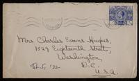 Letter to mother 5/02/1922