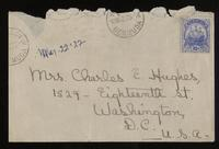 Letter to family 10/03/1922