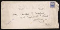 Letter to Mumsey 10/04/1922