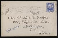 Letter to Mumsey 28/04/1922