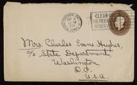 Letter to Mumsey and Father 8/10/1922