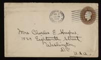 Letter to mother 8/11/1922