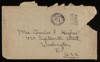 Letter to Mumsey 19/11/1922