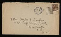 Letter to Mumsey 23/11/1922