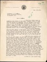 Letter to Professor J. J. R. Macleod 18/07/[1922]