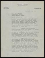 Copy of a letter to J. J. R. Macleod regarding a patent for an anti-diabetic agent 25/09/1922