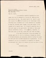 Letter to Dr. E. L. Scott 12/10/1922