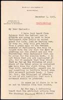 Letter to Macleod 3/12/1923