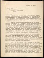 Letter to H. H. Dale 7/12/1923