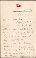 Letter to Macleod 21/10/1922
