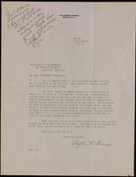 Letter to Professor Macleod 14/03/1923