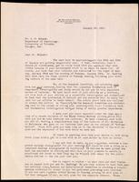 Letter to Dr. Macleod 18/01/1923