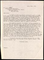 Letter to Dr. E. L. Scott 23/04/1923