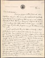 Letter to Doctor Macleod 21/04/[1923]