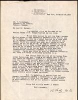 Letter to Dr. Macleod 23/02/1923
