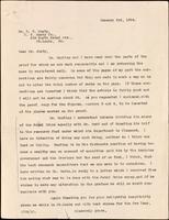 Letter to Dr. C. V.  Mosby 3/01/1924