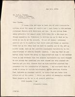 Letter to Dr. G. H. A. Clowes 1/05/1924