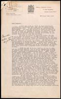 Letter to Macleod regarding the distribution of insulin in Europe 19/02/1923