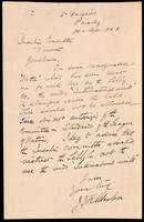 Letter to the Insulin Committee 28/04/1923