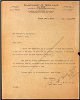 Letter to the Insulin Committee 19/12/1922