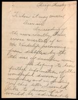 Letter to the Insulin Committee 12/05/1923