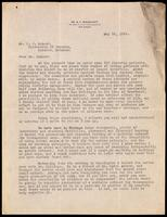Letter to Dr. Macleod 10/05/1922