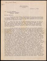 Letter to Dr. Macleod 4/10/1922