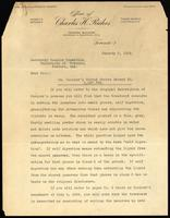 Letter to the Insulin Committee 8/01/1926