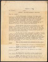Letter to Dr. Clowes 3/01/1923