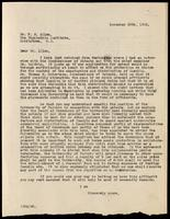Letter to Dr. F. M. Allen 29/11/1922