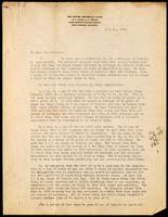 Letter to Dr Macleod 21/07/1922