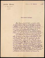 Letter to the Insulin Committee 24/10/1923