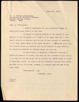 Letter to Dr. R. Carrasco-Formiguera 26/05/1922