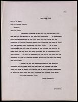 Letter to  Mr. C. H. Best 11/05/1923