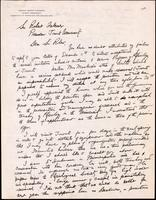 Letter to Sir Robert Falconer [ca. 12/1917]