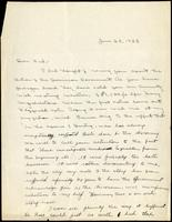 Letter to Fred Banting 28/06/1923