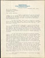 Letter to F. G. Banting 23/11/1923