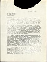 Letter to F. G. Banting 7/11/1923