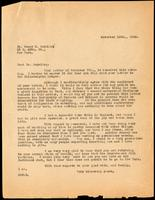 Letter to Dr. Geyelin 10/11/1923