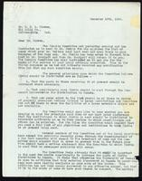Letter to Dr. G. H. A. Clowes 12/12/1922