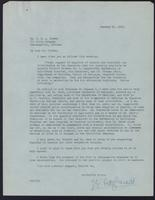 Letter to Dr. G. H. A. Clowes 10/01/1923